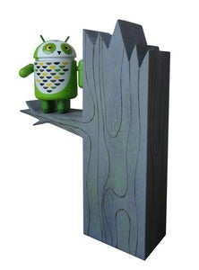"Image of AP Whoogle the Android Owl ""Tree set"""