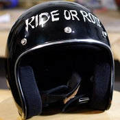 Image of Ride or Rot! - Custom Hand Painted helmet
