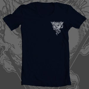 Image of tiger owl chest logo shirt