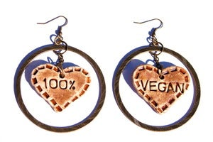 Image of 100% Vegan Earrings 