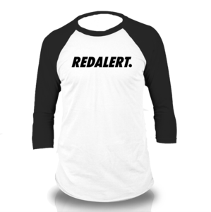 Image of Red Alert Raglan Baseball Tee