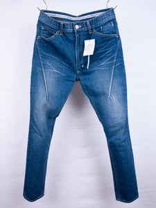 Image of Number (N)ine -  Vintage Wash Darted Indigo Jeans