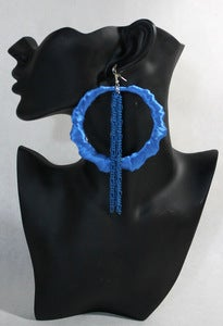 Image of &quot;Code Blue&quot; Bamboo w/Chains