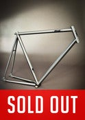 Image of PIAS Track Frameset - Brushed Steel