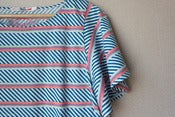 Image of UNIQLO x MT flutter sleeve stripe tee - L
