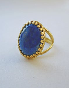 Image of Marilla - Lapis Lazuli Ring