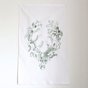 Image of MR STAG TEA TOWEL