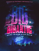 Image of 2012/2013 New Years Eve Autographed 18x24 poster