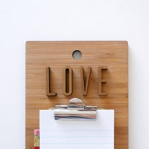 Image of Love Clipboard