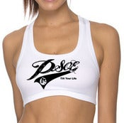Image of PSOE Ladies Sport Top  (White/Black)