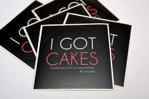 Image of GOT CAKES? Decal