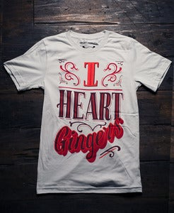 Image of I Heart Gingers Tee