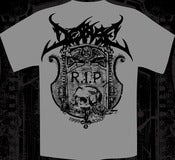 Image of DESPISE - R.I.P. tshirt Grey