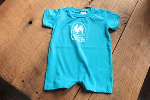 Image of Baby Blue Romper