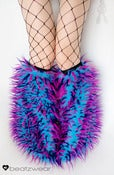 Image of Festival fluffies uv turquoise/pink/purple