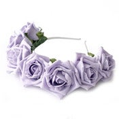 Image of Whole Lotta Rosie Headband - Lilac