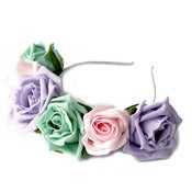 Image of Whole Lotta Rosie Headband - Icecream