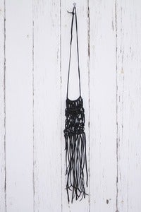 Image of She-Wolves Abstract Macrame 