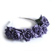 Image of Whole Lotta Rosie Headband - Aubergene