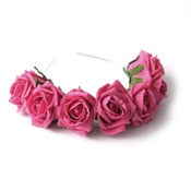 Image of Whole Lotta Rosie Headband - Hot Pink