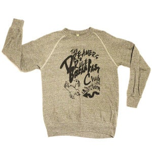 "Image of ""THE EARLY BIRD GETS THE WORM"" Crew Neck Sweatshirt"