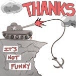 Image of Thanks - It's Not Funny CD