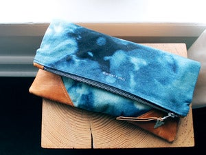 Image of +Sold Out+ LIBRO GRANDE CLUTCH - CONSTELLATION