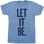 Image of LET IT BE.