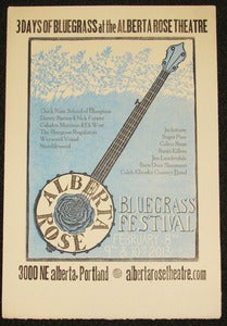 Image of Alberta Rose Bluegrass Poster