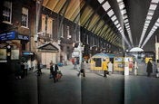 Image of Kings Cross Station in 1970
