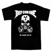 Image of DEF-CON-ONE 'WARFACE' T-SHIRT