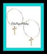Image of ♥Cute Cross Earrings♥