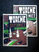 Image of Torche, Bats & Mice show poster (non metallic)