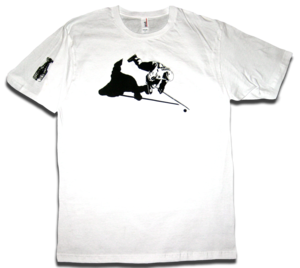 Image of Sidney Crosby &quot;Sid's Silhouette&quot; tee by Backpage Press