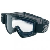 Image of Moto Riding Goggles - (Black / White / Grey)