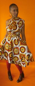 Image of Afrique Multi-Wrap Dress