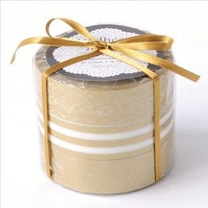Image of 3 Roll Gold Washi Tape Set