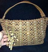 Image of Coffee Brown Handbag with Fringe