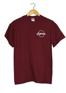 Image of World Tee (Maroon)