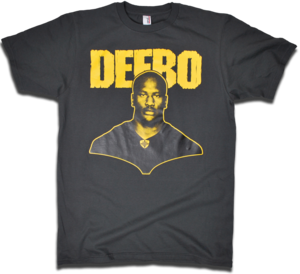 Image of James &quot;DEEBO&quot; Harrison tee by Backpage Press