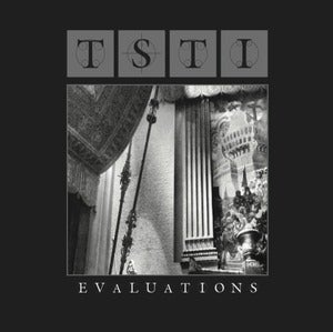 Image of TSTI - evaluations (dsr068LP) - grey &amp; black speckles vinyl - 300 copies - first pressing