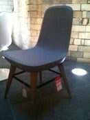 Image of Pebble Chair Light Grey. Ex Display