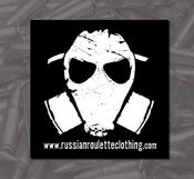 Image of Gas Mask Sticker 2 pack (4&quot;x4&quot;)