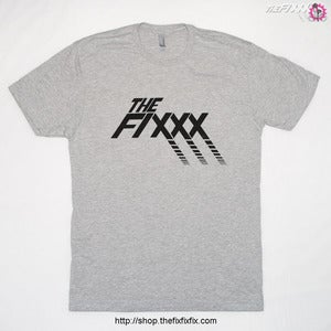 "Image of ""TheFIXXX"" T-Shirt -     Grey/Black"