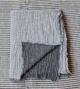 Image of Reversible Linen Throw