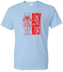 Image of BUSTIN' NUTS NUTCRACKER T-SHIRT