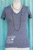 Image of Wonderfully Made Vneck Tee