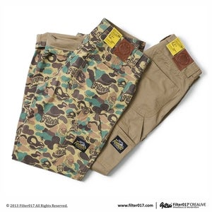 Image of Filter017 LAND OF LOST CAMOUFLAGE WORK PANTS
