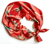 Image of CIRCUS GYMNAST SILK SCARF