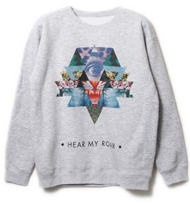 Image of Crewneck 'Hear my roar' 2.0